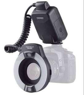 Ring Flash Yongnuo Yn 14ex Macro Ttl Circular Para Canon