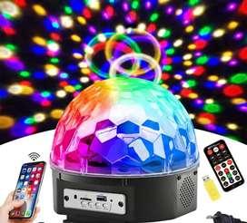 Bola De luces discoteca con Mp3
