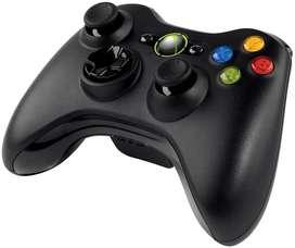 Control Xbox 360 negro Inalámbrico