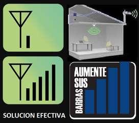 Kit sistema Antena Amplificador Señal Movil DIGITEL Celular Doble Banda 4g Finca venezuela
