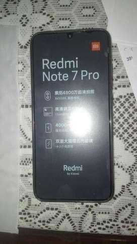 Telefnoo CElular xiaomi REDMI note 7 PRO con TODOS los accesorios