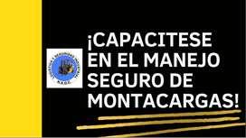 CURSOS Y CERTIFICADOS DE MONTACARGAS