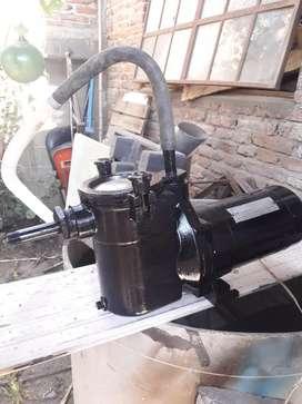 Bomba centrifuga con filtro