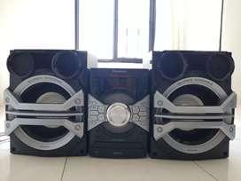 Equipo de sonido panasonic SA-AKX58