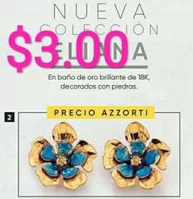 Joyería Azzorti, precios de remate, desde $3