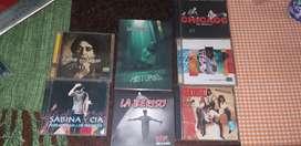 CD de Sabina, Bersuit,la Beriso,los Rodríguez,Fito Páez,Chicago y fame