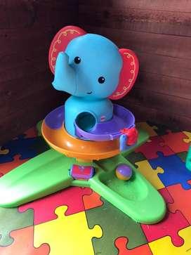 Jueguete interctivo musical Laberinto elefante