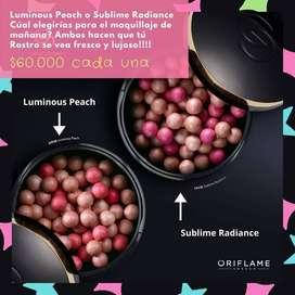 Espectacular Rubor - Perlas Bronceadoras Oriflame