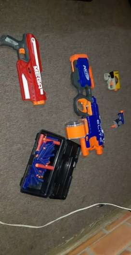 Vendo pistolas nerf