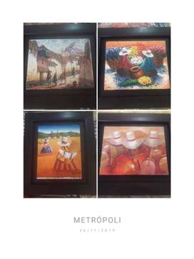 cuadros arte peruano