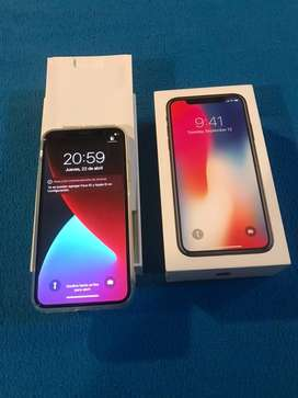 Iphone X 256 gb bateria 85 impecable