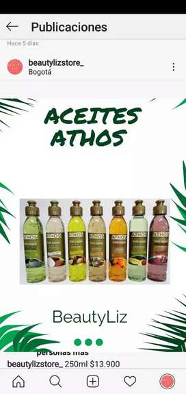 Aceite athos 250ml