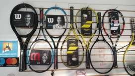 Raquetas disponibles originales