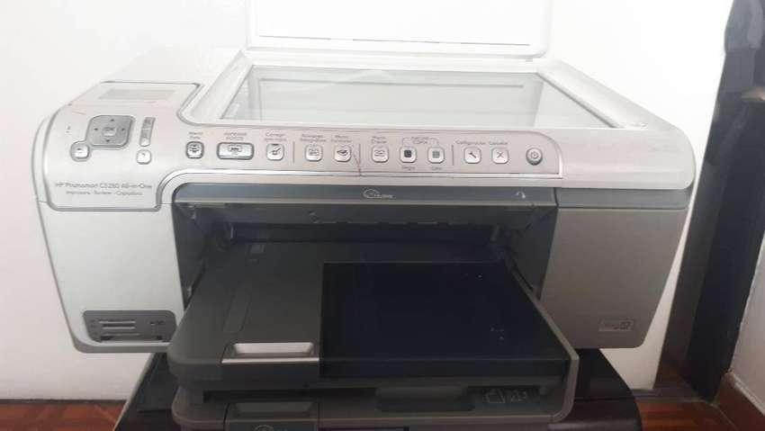 Impresora multifuncional hp cartuchos color ,