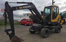 Excavadora de Llantas Volvo Ew55B 2005
