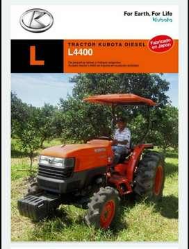 Vendo   tractor kubota 7040, 4400