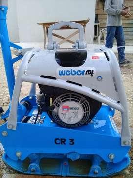 Alquilo o Vendo Compactador - Plancha Reversible Weber