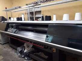 Máquina de tejer universal 720 galga 10