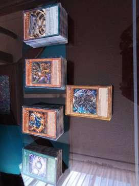 Lote de 459 cartas de yugioh