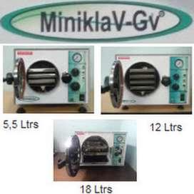 AUTOCLAVE MINIKLAV-GV DE 12 LT Y 18 LT NUEVOS