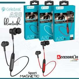 Auriculares A20 Bluetooth ‼️ Celebrat Originales full sonido‼️