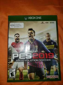 Pes2019 Xbox One (remate)