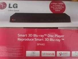 Reproductor Bluray marca LG