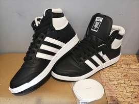 ADIDAS TOP TEN male sneakers color blanco y negro