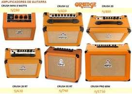Amplificadores para guitarra Orange