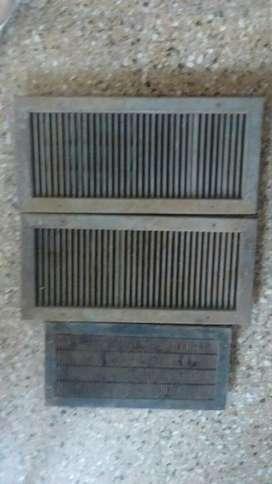 Rejillas de Ventilación