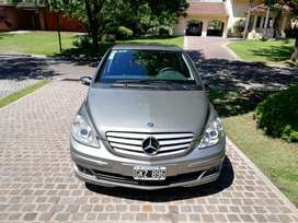 Vendo Mercedes Benz B200 2007, caja manual, primera mano