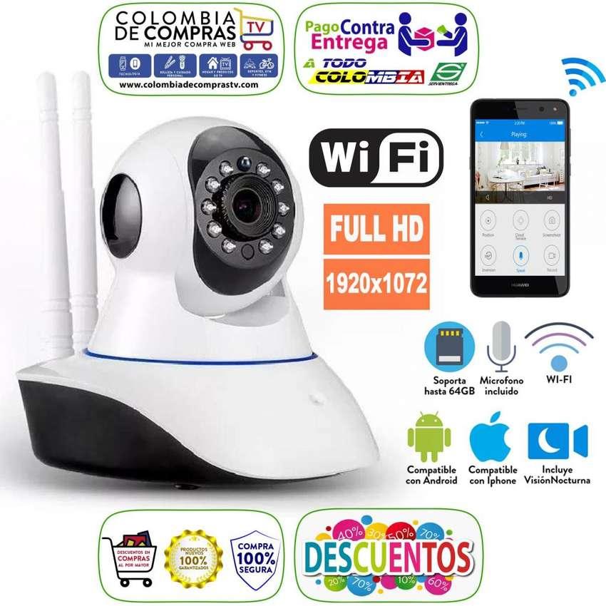 Cámara Seguridad Robótica Ip, Wifi, Visión Nocturna, Full Hd, Nuevas, Garantizadas... 0