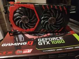 GTX 1080 MSI gaming X