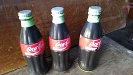 Botellas de cocacola