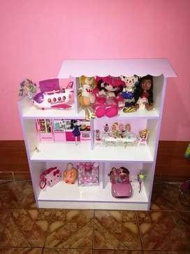 Organizador de juguetes para niñas(nuevo)