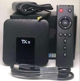 Tv box TX9 canales internacionales