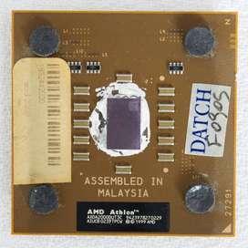 Microprocesador AMD Athlon XP 2000 1.66Ghz Socket 462 Con Cooler