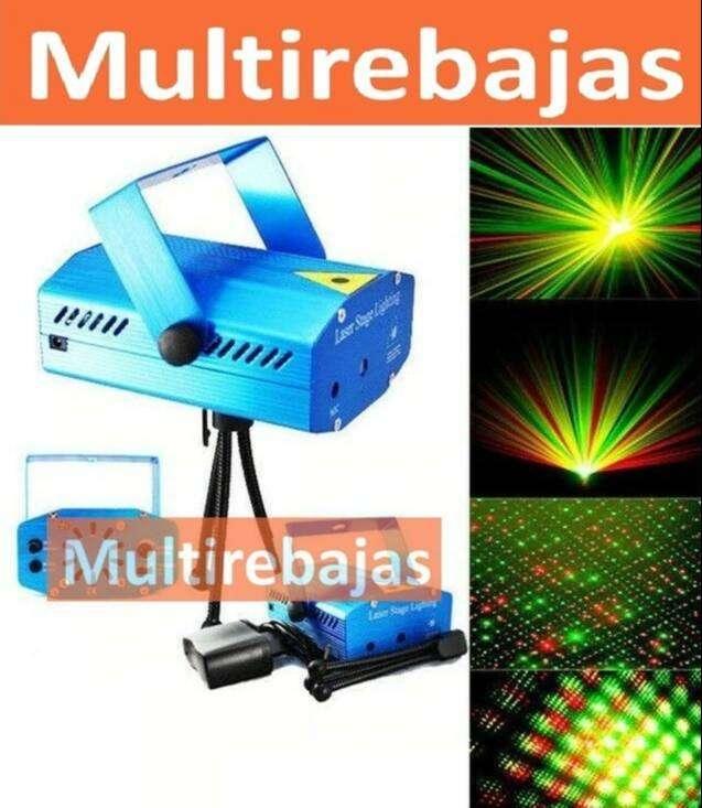 Mini Laser Con Controlador De Voz Mini Proyector De Luz Led 0