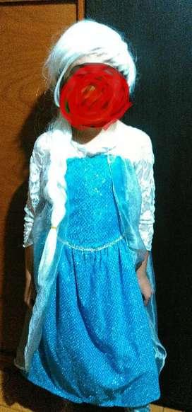 Vendo Disfraz Elsa Frozen