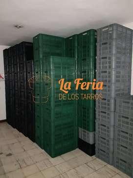Canastillas Nuevas abiertas 60x40x25 Plastico Alta densidad