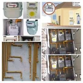 Instalaciones puntos principales. Gas natural