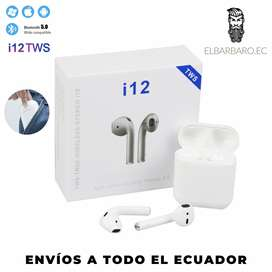 Audífonos Bluetooth Tws I12 2020 Inalámbrico AirPods Samsung Iphone
