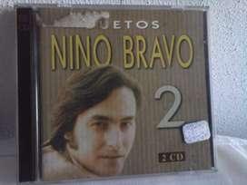 2 CD Nino Bravo duetos