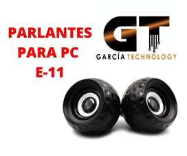 PARLANTES PARA PC E-11