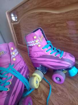 patines soy luna talle 32