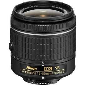 Lente Nikon 18 55 (Refurbished)