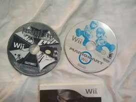 Dos juegos Wii clásicos completamente originales