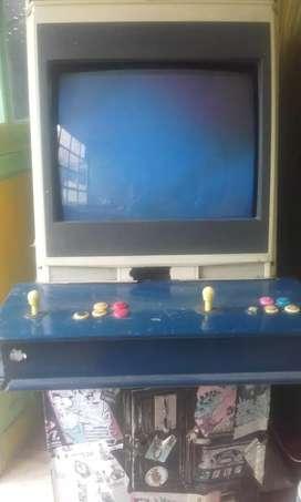 Arcade machine retro mas de 200 games