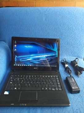 ¡¡ ganga ¡¡ portatil acer con procesador intel dual-core ,perfecto estado y funcionamiento ¡¡ ganga