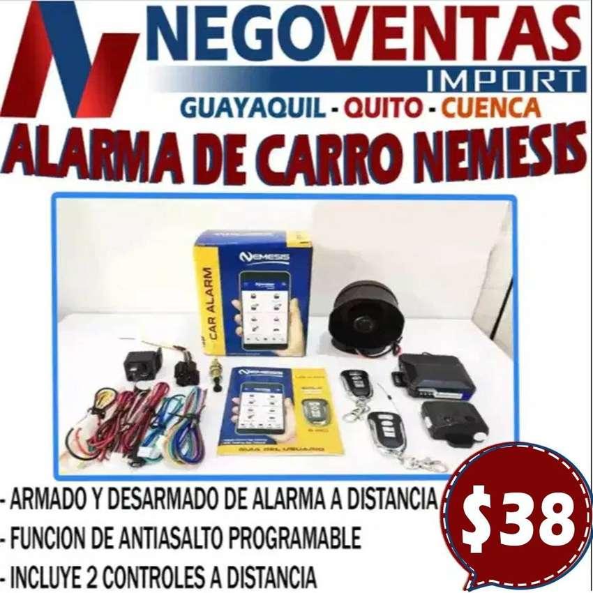 ALARMA DE CARRO NEMESIS